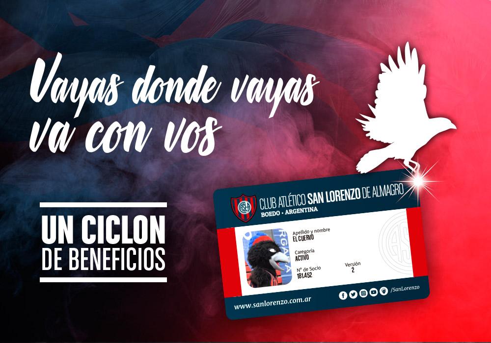 """San Lorenzo presento """"Un Ciclón de Beneficios"""""""